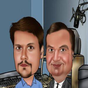 Moderatoren Ted & Felix